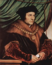 1527 portrait of Thomas More by Hans Holbein the Younger
