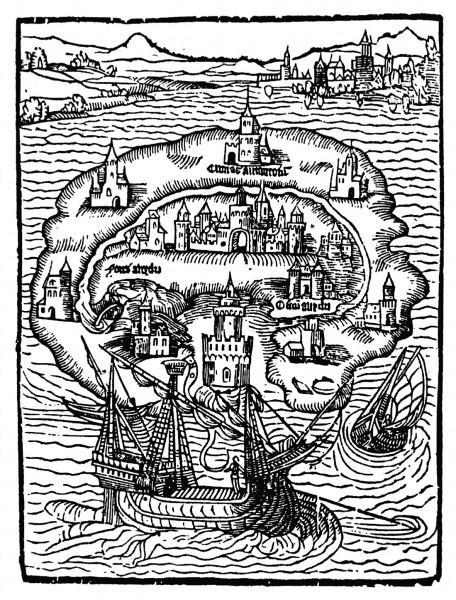 1516 Utopia Map