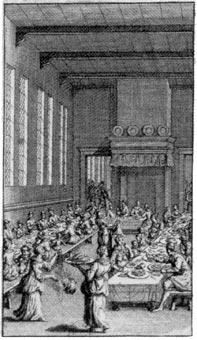 1715 Utopia, dining
