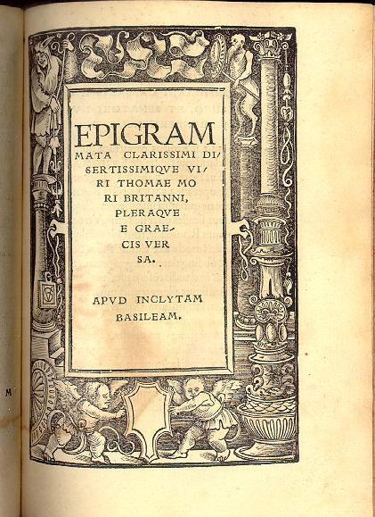 1518 Epigram page