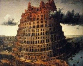 The Tower of Babel, Pieter Bruegel the Elder, c. 1560