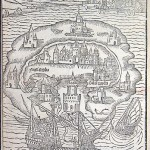 Map from the 1516 edition of Utopia