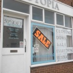 Utopia (closing down) in Forton Road, UK,  photo: Basher Eyre