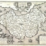 Map of Utopia by Abraham Ortelius, creator of the modern atlas. 1595