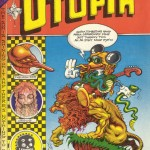 Cover of Rick Griffin's 1970 Man from Utopia comic book