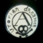 1970s UK punk rock badge / button (from George McKay)
