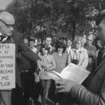 Explaining Utopia, Speakers' Corner Hyde Park, circa 1950(?)